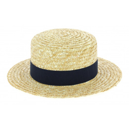 Children boater hat Navy