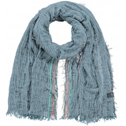 Blue Narbonne scarf - Barts