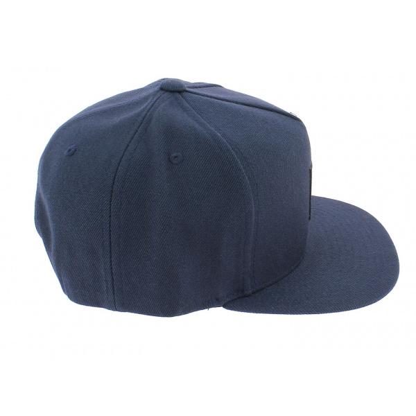 Casquette Snapback Box Navy Bleu-Marine - Huf