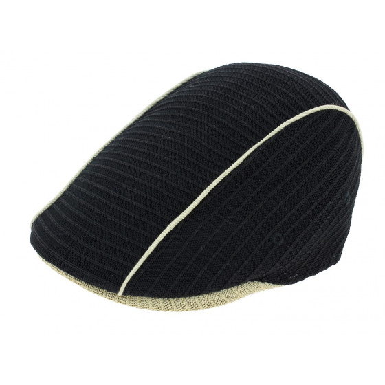 507 Vintage Black / Beige Cap - Kangol