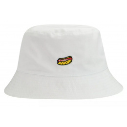 Bob Food Bucket Reversible White - Kangol