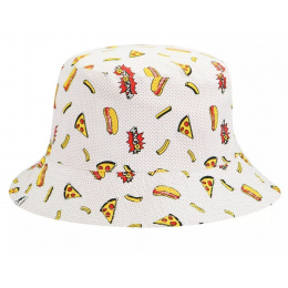 Bob Food Bucket Reversible Blanc - Kangol