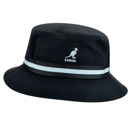 Bob Stripe Lahinch Coton Noir - Kangol