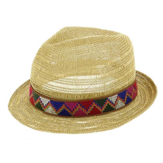 Juliaca Trilby Hat Straw Paper - Seeberger