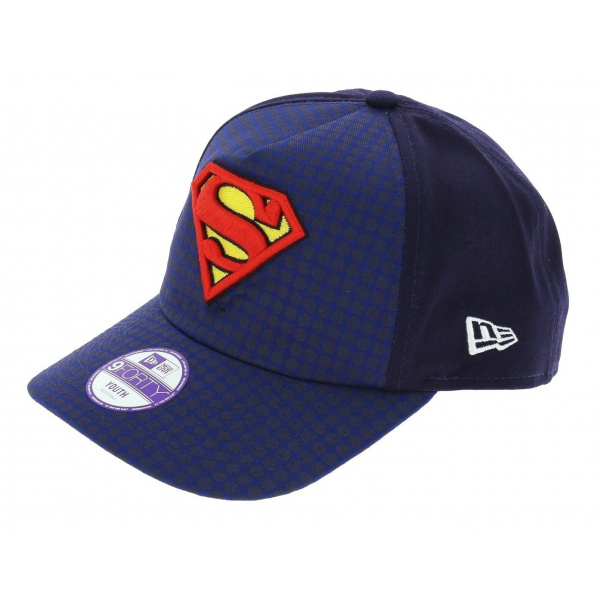 100% de qualité supérieure style roman meilleure valeur Casquette Baseball Enfant Hero Superman Coton - New Era