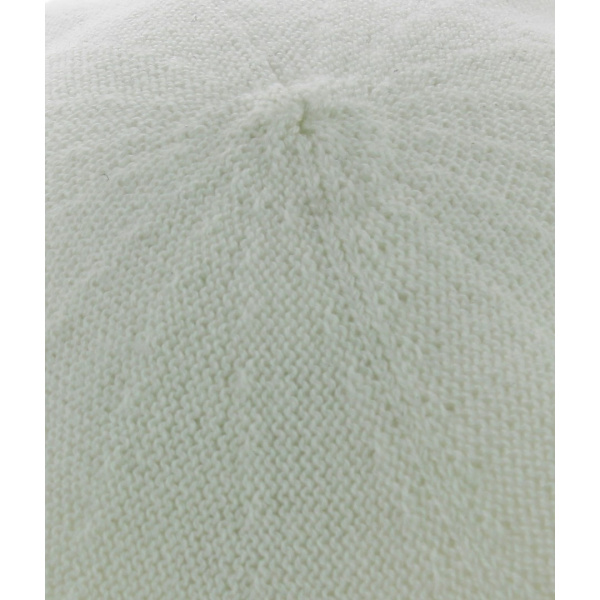 Beret coton Blanc