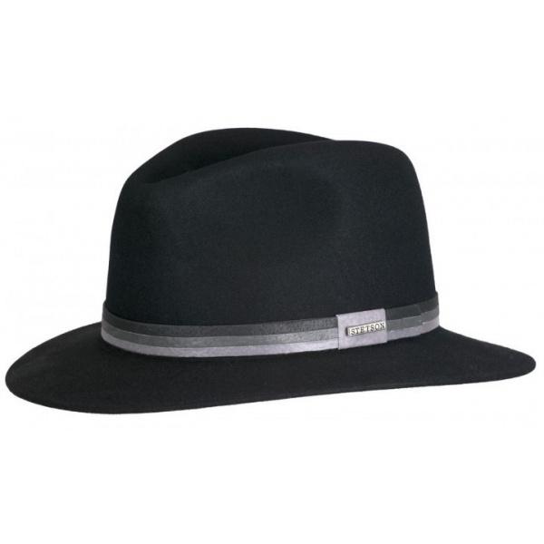 Chapeau feutre poil Ramsey noir