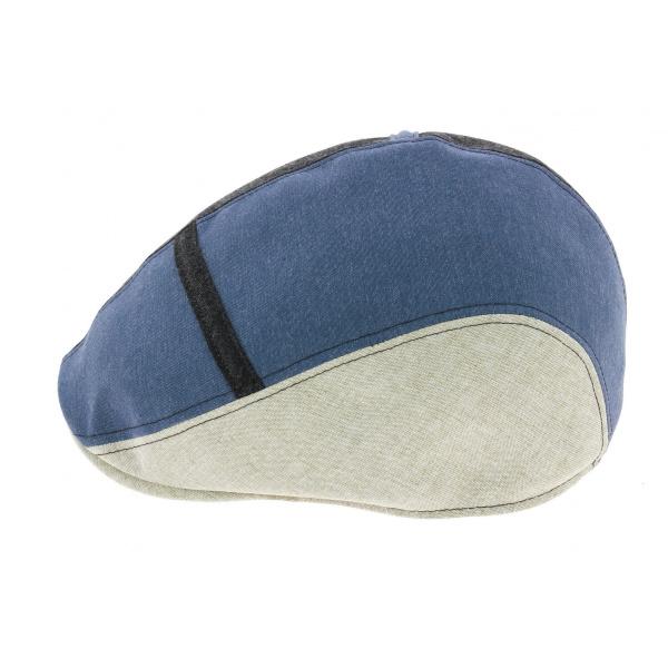 Casquette Plate Caussade Brightback Coton Tricolore - Crambes