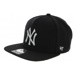 Snapback Visière Plate Craquelée NY Yankees - 47 Brand