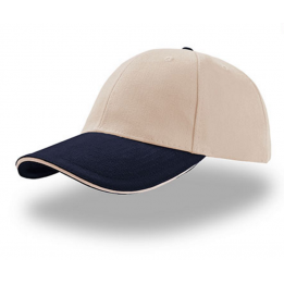 Casquette baseball LIBERTY SANDWICH NATUREL-NAVY SANDWICH NATUREL