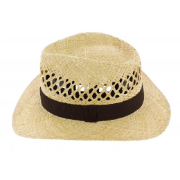 Thierry Traveller Hat Natural Straw - Traclet