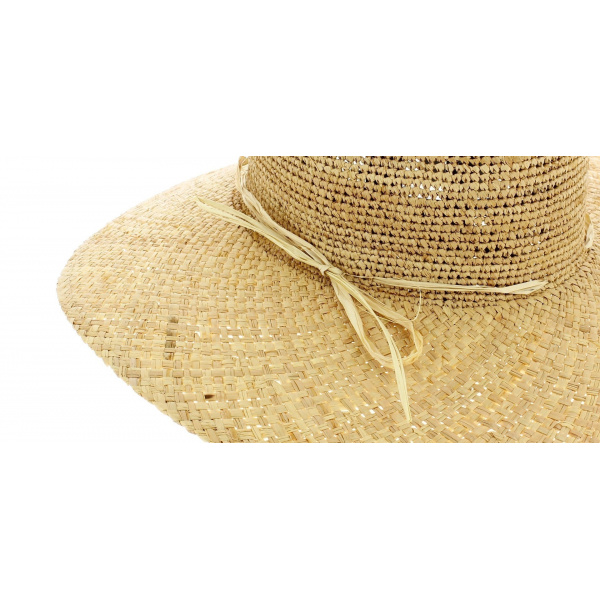 Sun protection hat - Sand straw
