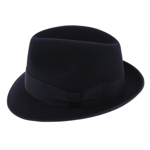 Hat small edge style blues brothers