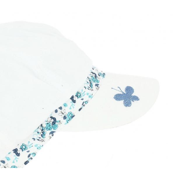 Casquette Herman Butterfly - Bleu