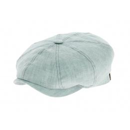 Hatteras cap in blue linen - Stetson