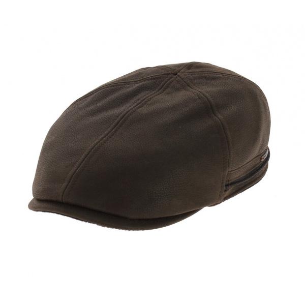 Redding leather stetson cap ear cover par Stetson db5eb133e93