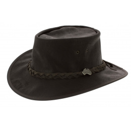 Chapeau Traveller Cuir Marron - Ayers Rock