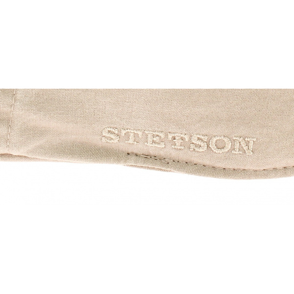 Casquette Plate Coton Bio Beige - Stetson