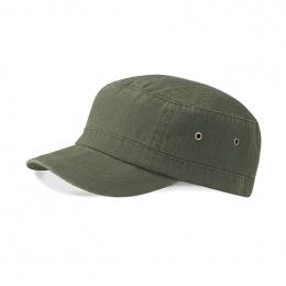 Army Abrams Herringbone Khaki Cap - Beechfield