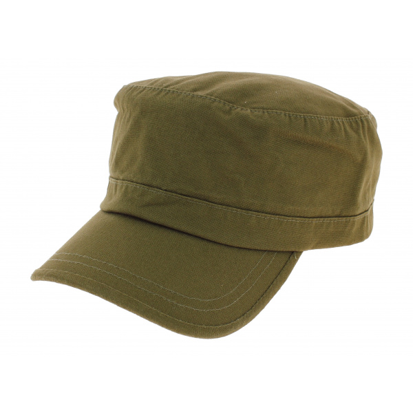 3b29a4832b Casquette Army Coton Beige - Beechfield - Chapeau Traclet