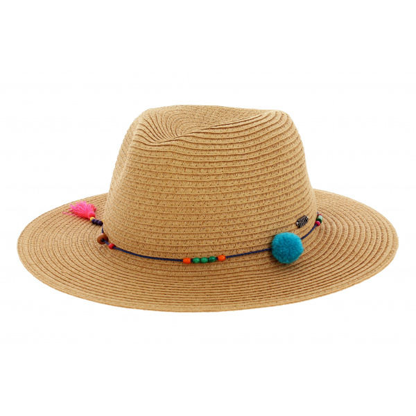 Chapeau traveller Magnolia garniture orange - Barts