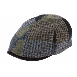 Texas Patchwork Wool Blue Cap - Stetson