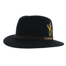 Chapeau Delaware Valrico Feutre Noir - Stetson