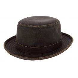 Chapeau Porkpie Vintage Marron - Stetson