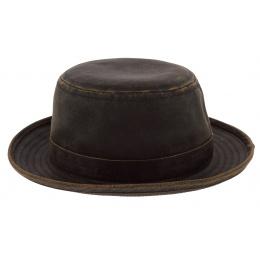 Brown Vintage Porkpie Hat - Stetson