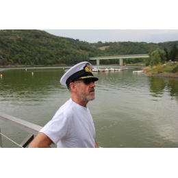 Casquette Capitaine Blanc - Traclet