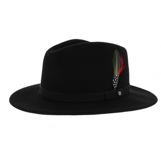 Stetson Yutan Flexible Hat Black