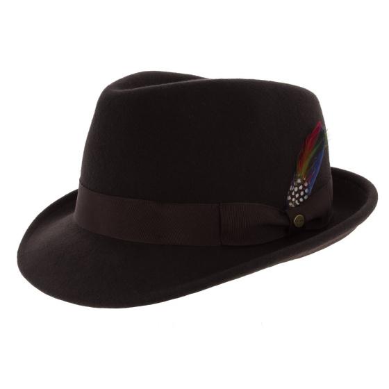 Elkader Brown felt hat - Stetson