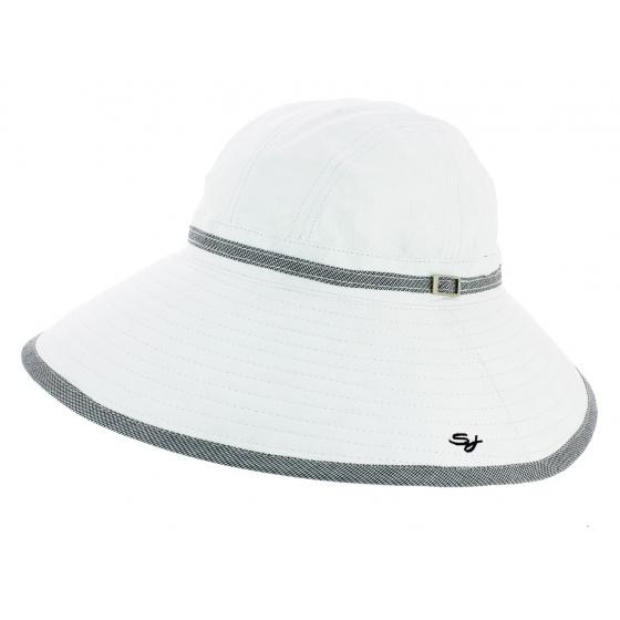 Chapeau Harmony en Tissu BLANC