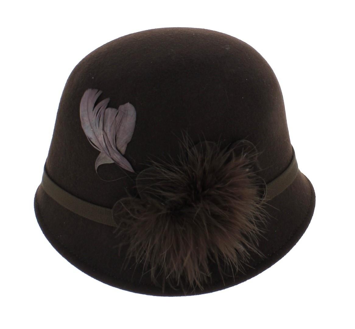 Chapeau Équitation couvrir-brown /& navy