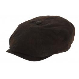 Casquette hatteras cuir stetson cache oreille