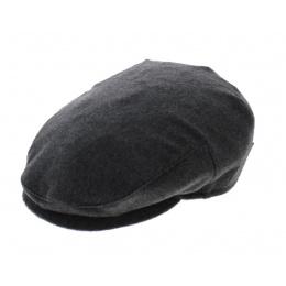 Casquette cachemire grise - Borsalino