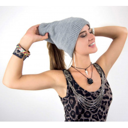 Bonnet long tombant Freeboard gris