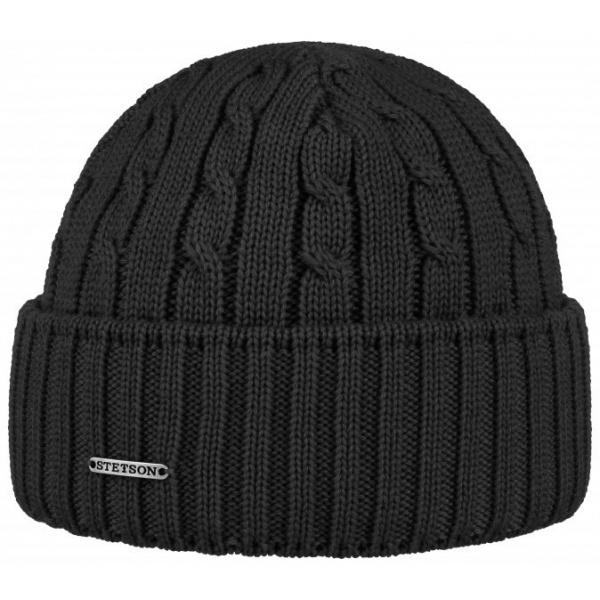 Georgia hat Stetson wool black