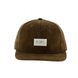 Casquette Silverline 6 Panel Camel - KING APPAREL