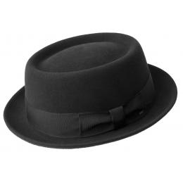 Chapeau Porkpie Darron Noir - Bailey