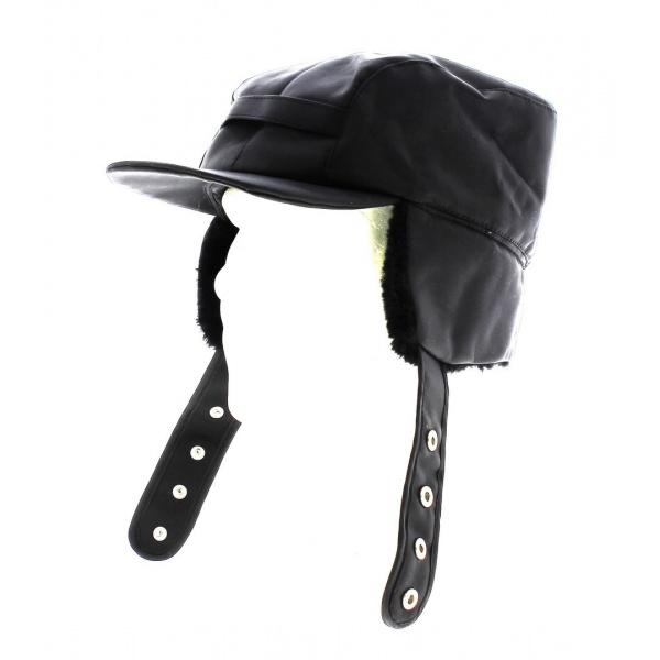 Casquette de chasseur Noir