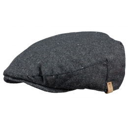 Grey Dayton Flat Cap - Barts
