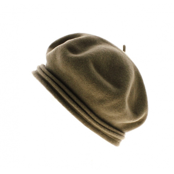 Beret Chopin Laulhere -Marron Glace
