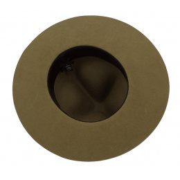 Classic Olive Wool Felt Scout Hat - Traclet
