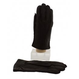 Peccary & Cashmere Brown Gloves for Men - Picaros