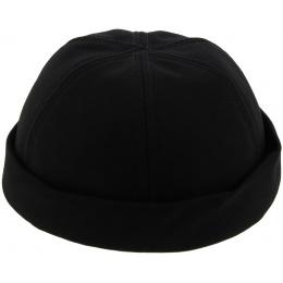 Bonnet Miki Docker Éte Cooper Coton Noir