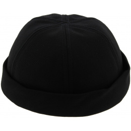 Miki Docker Summer Cooper Cotton Black Cotton Cap
