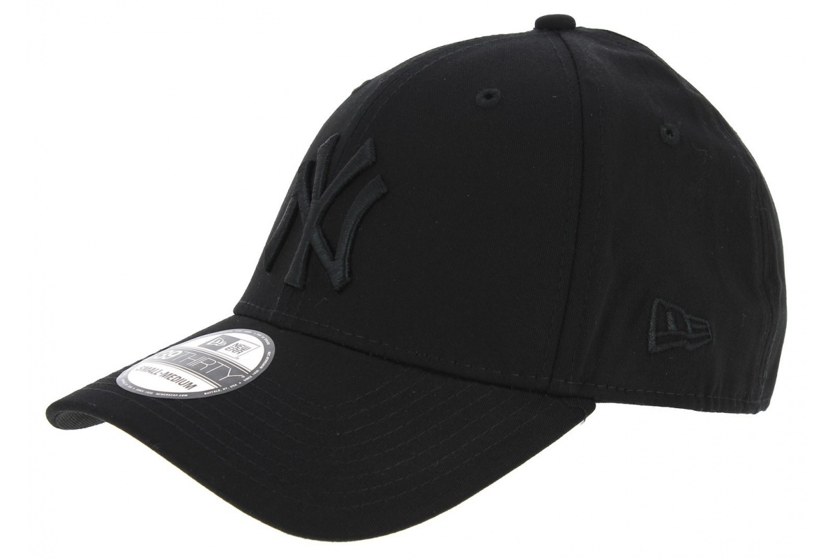 casquette baseball fitted league yankes of ny noir new era. Black Bedroom Furniture Sets. Home Design Ideas