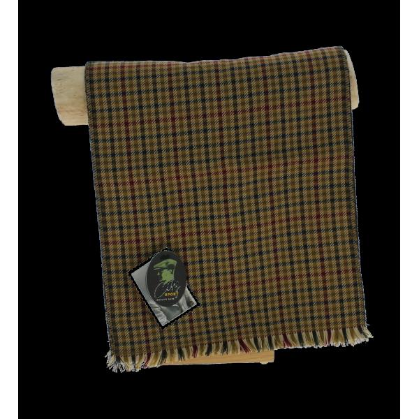 Men's plaid scarf