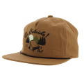 Casquette Strapback The Great Outdoors Coton Camel - Coal